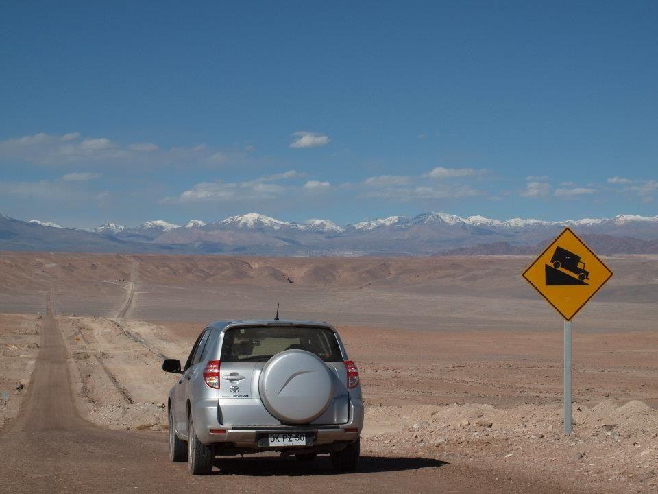 Viagem de carro em Calama, no Chile
