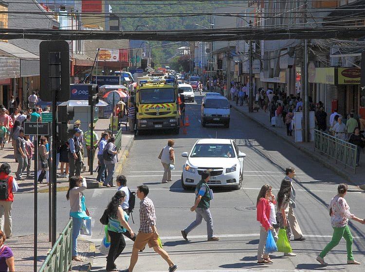 Andando a pé em Temuco