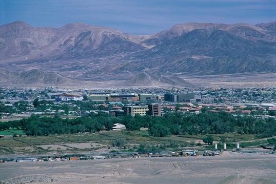 Cidade de Calama, no Chile