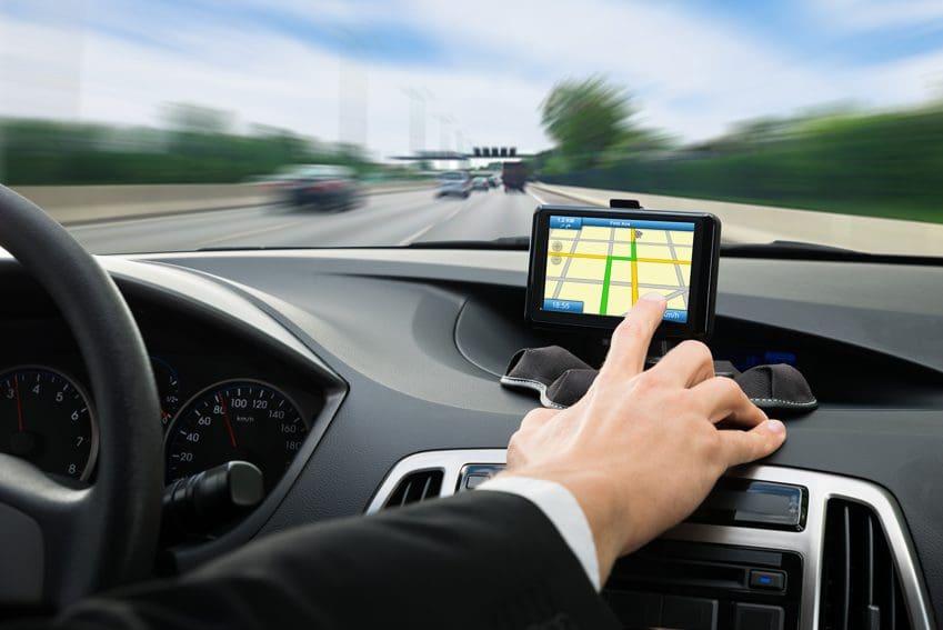 GPS no aluguel do carro em Calama