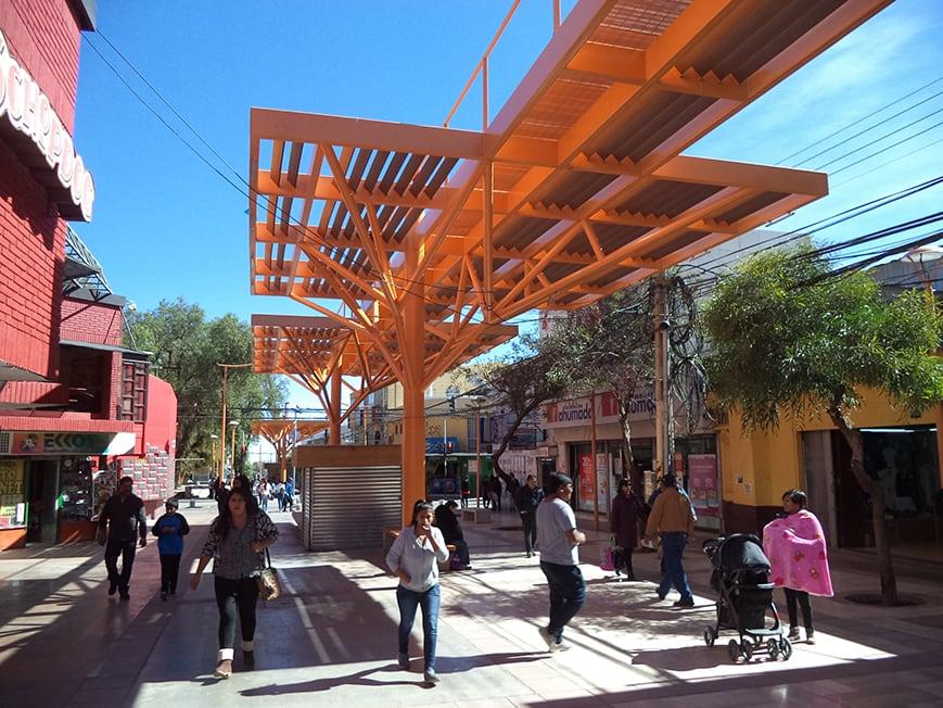 Paseo Ramirez em Calama