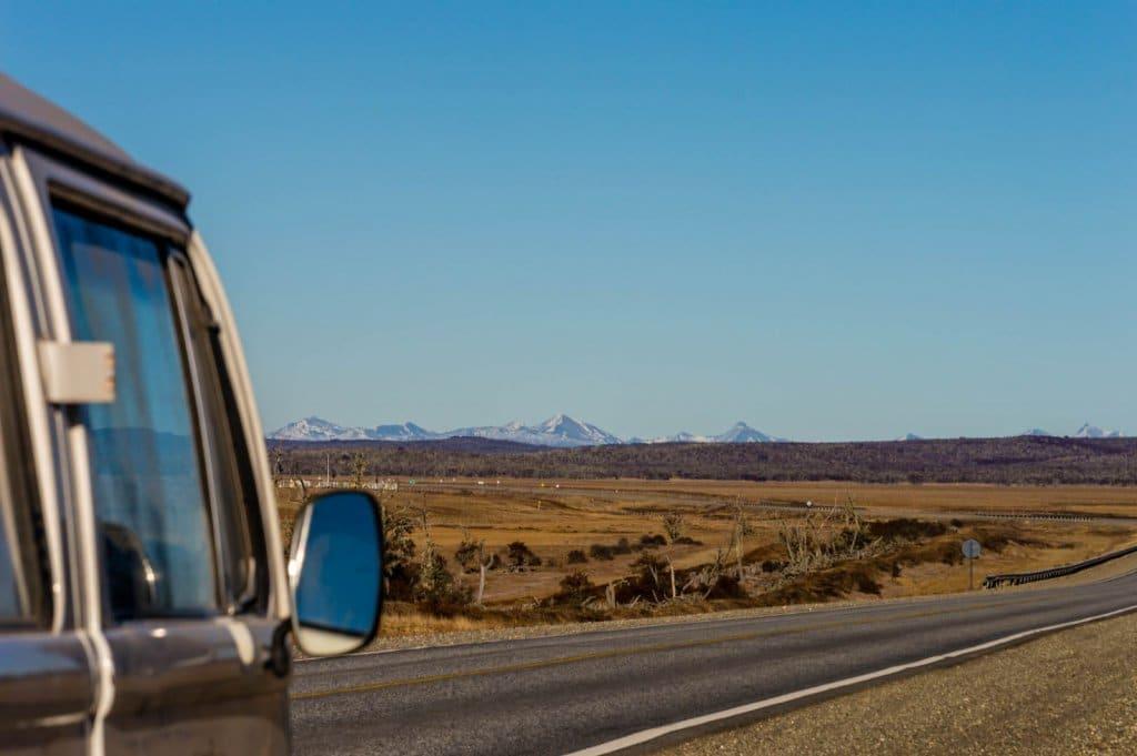 Viagem de carro em Pucón
