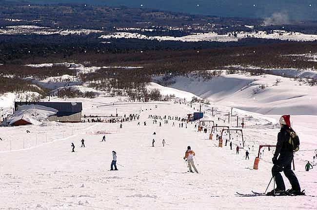 Inverno em Pucón