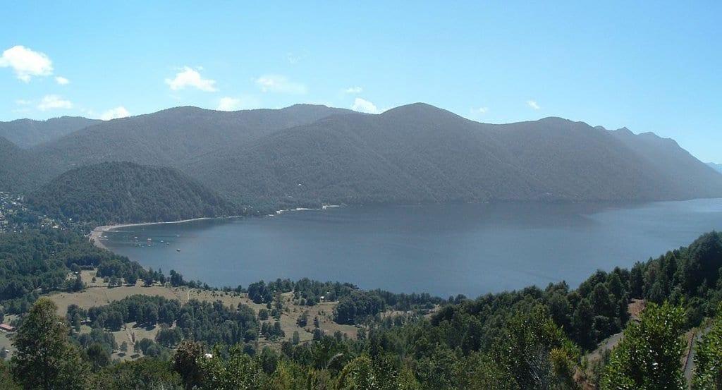 Lago Caburgua em Pucón