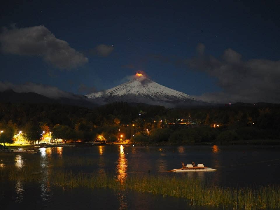 O que fazer a noite em Pucón, no Chile