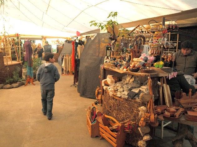 Plaza de Artesanías em Pucón