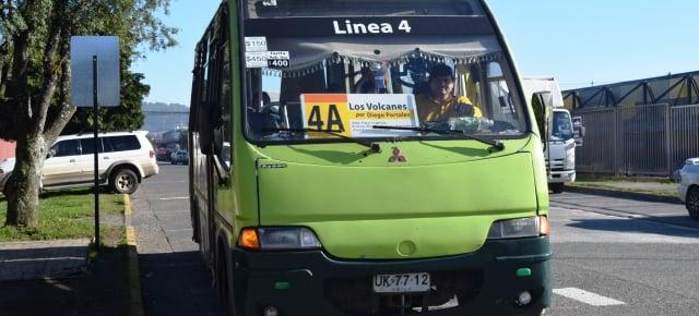 Transporte público em Pucón