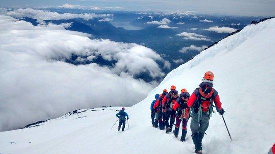Trekking no Vulcão Villarrica em Pucón