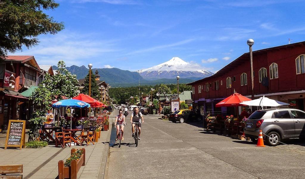 Centro de Pucón, no Chile