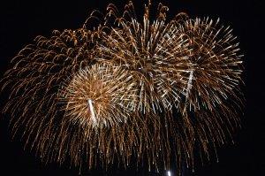 Ano Novo em Valparaíso: fogos