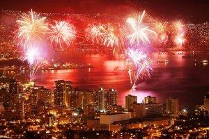 Ano Novo em Valparaíso: Ano Novo