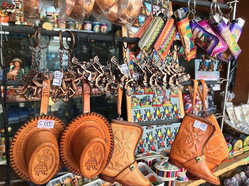 Souvenirs em Valparaíso