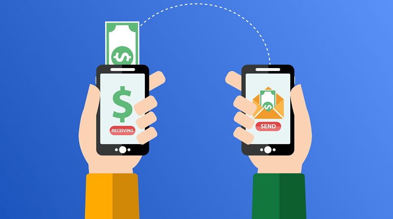 Envio de dinheiro pelo celular