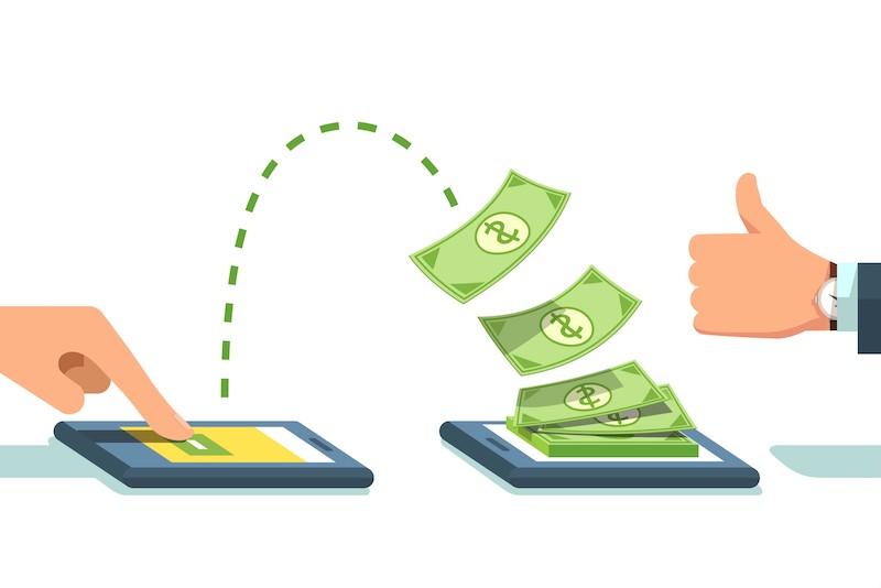 Envio de dinheiro em viagem ao exterior