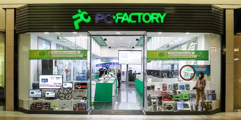 Onde comprar produtos da Apple em Santiago do Chile: PC Factory