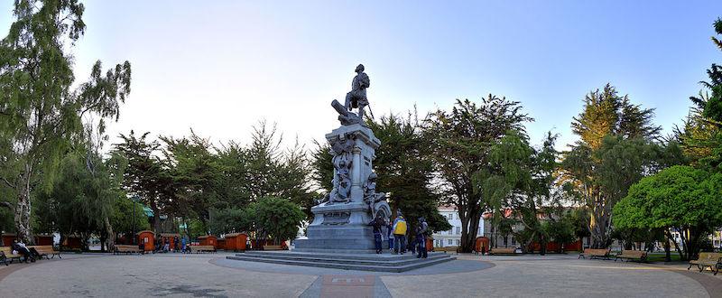 Guia pela cidade de Punta Arenas no Chile: plaza Muñoz Gamero