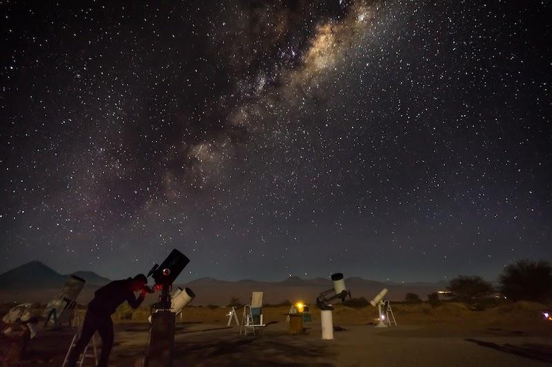 Tour astronômico em San Pedro de Atacama no Chile: telescópios
