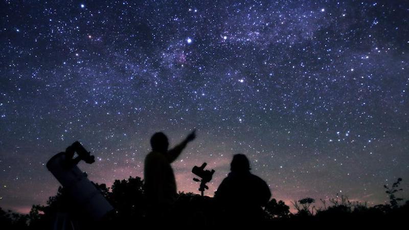 Tour astronômico em San Pedro de Atacama no Chile: visitantes