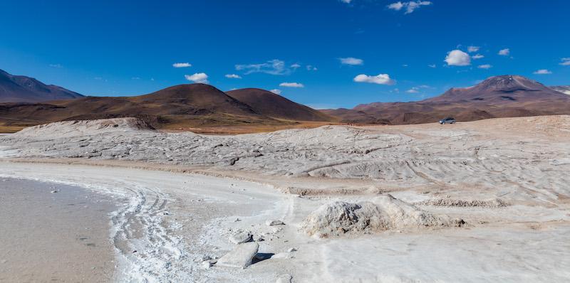 Passeio no vulcão Aguas Calientes no Chile