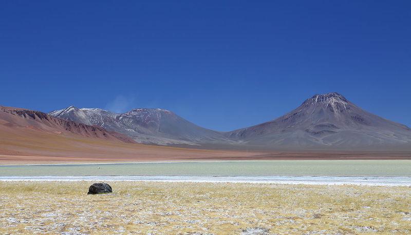 Passeio no vulcão Aguas Calientes no Chile: vulcões Lascar e Aguas Calientes