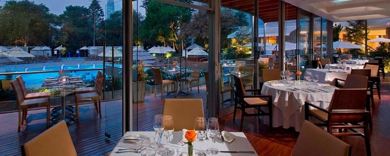 Restaurante em Santiago