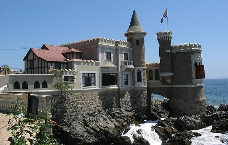 Castelo Wullf em Viña del Mar