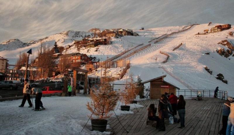 Estação de ski em Santiago