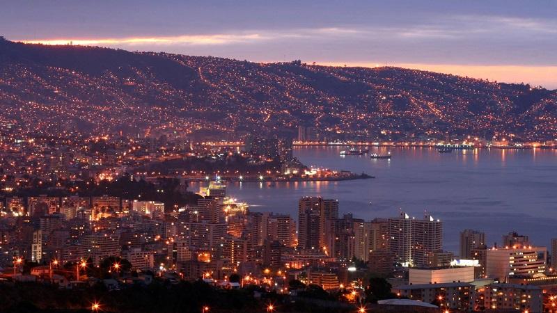 Noite em Viña del Mar - Chile