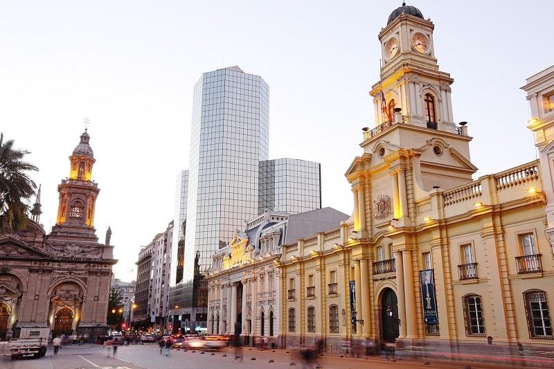 Beleza de Santiago do Chile