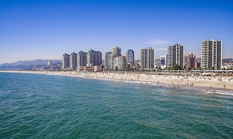 Praia - Valparaíso e Viña del Mar