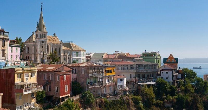Cerro Concepción em Valparaíso