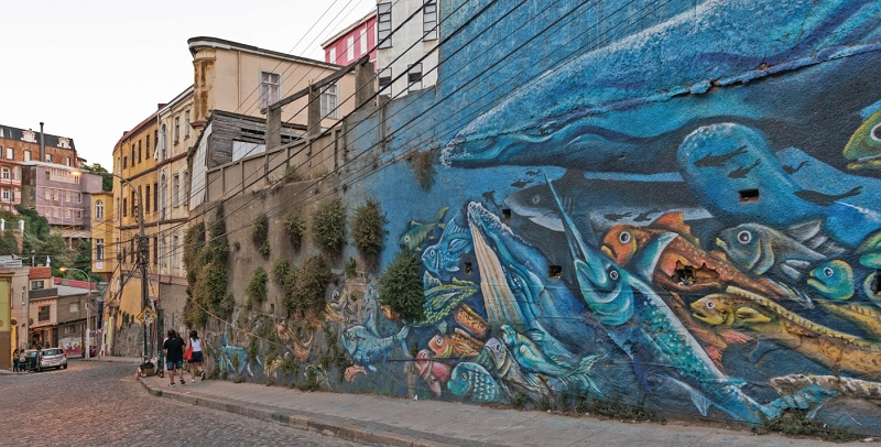 Grafites de Valparaíso