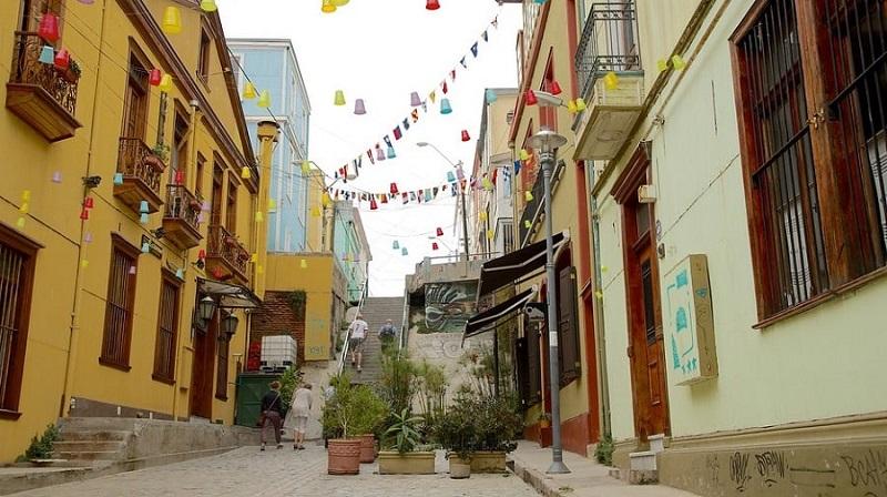 Paseo Gervasoni em Valparaíso