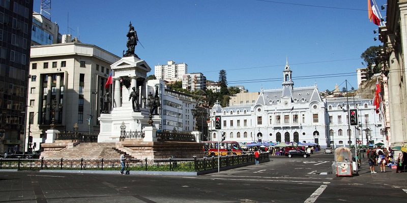 Plaza Sotomayor - Chile