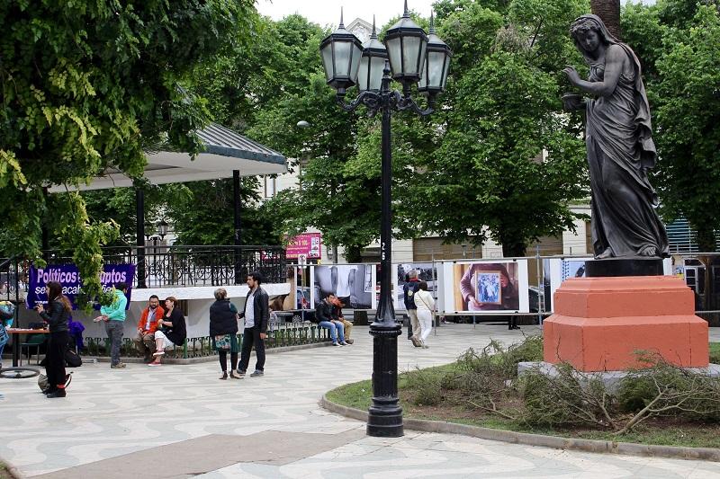 Plaza Victoria em Valparaíso
