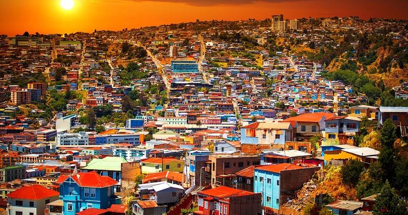 Casas coloridas de Viña del Mar