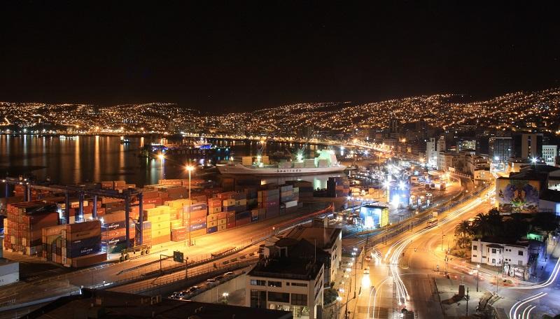 Noite em Valparaíso